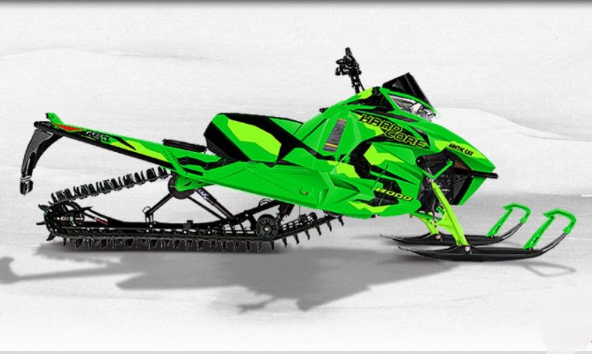 Снегоход Arctic Cat M 8000 153`HARDCORE MC (2017)