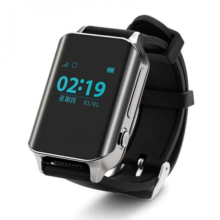Умные часы с GPS SMART WATCH A16 Silver